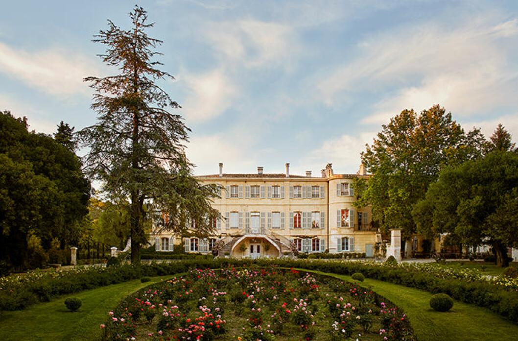 Estoublon slott i södra Frankrike på Airbnb Luxe
