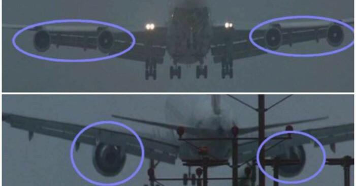 bild på två olika flygplan