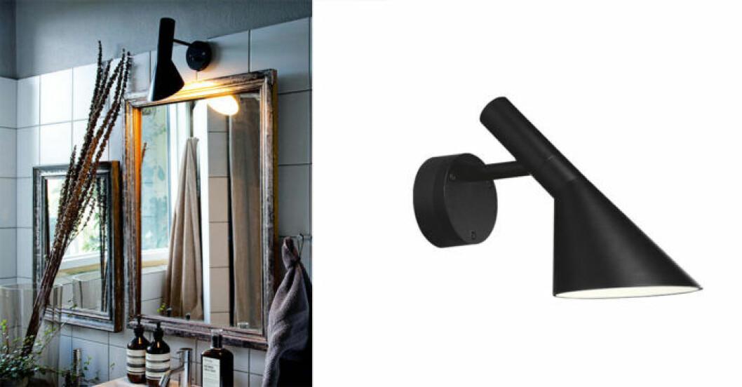Louis Poulsen lampa AJ badrum