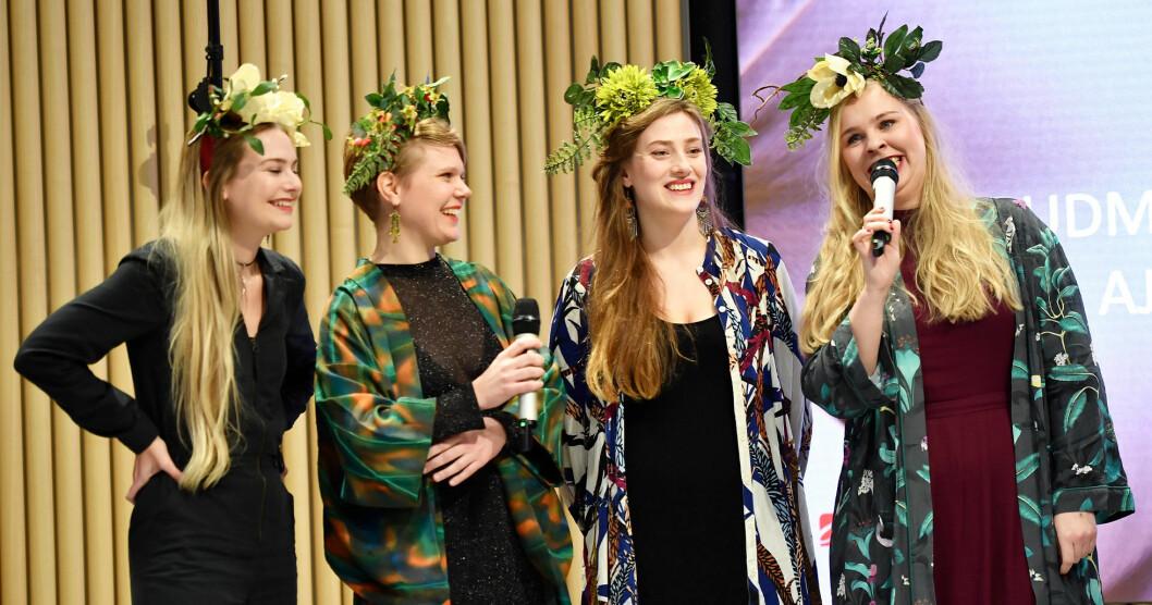 Åkervinda uppträder på Allsång på Skansen den 23 juli 2019.