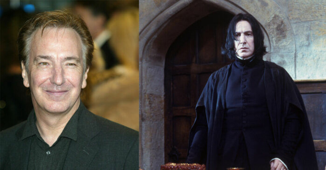 Alan Rickman i Harry Potter