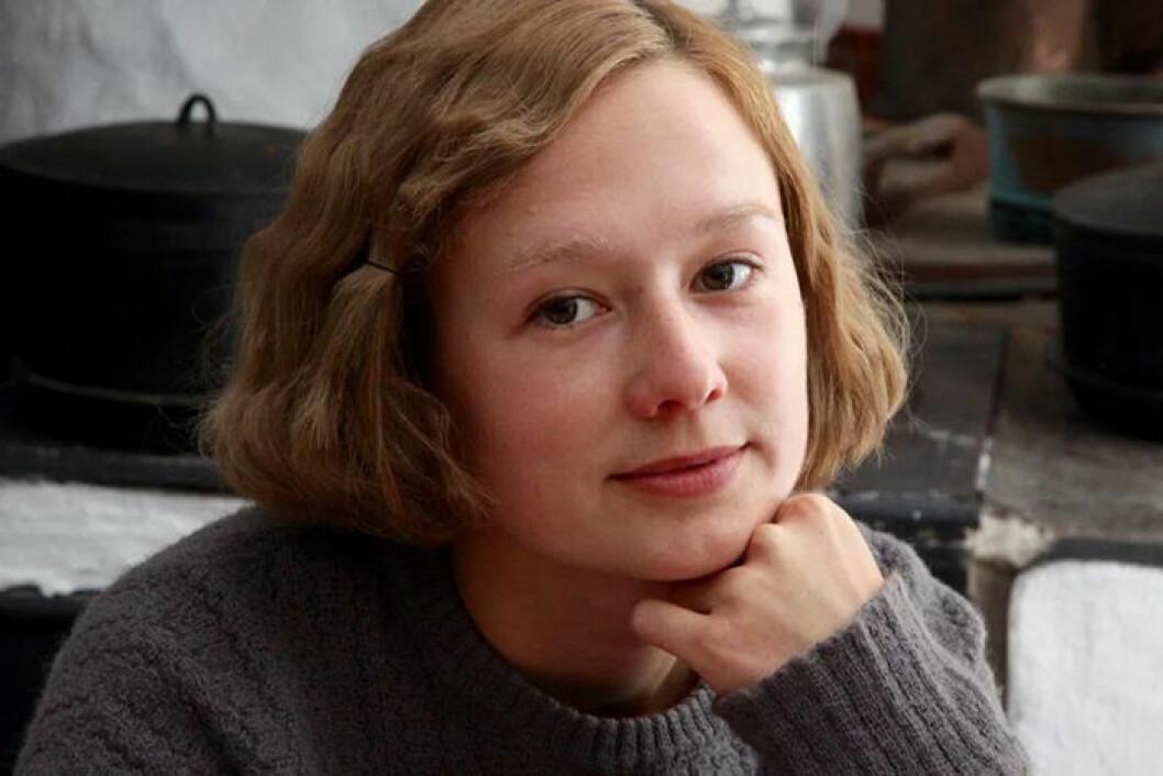 Alba August som Astrid Lindgren i filmen Unga Astrid som har preimär hösten 2018.