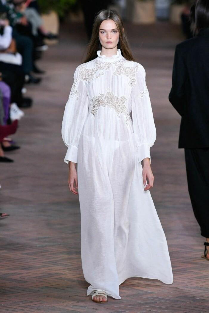 Albertta Ferretti ss 21 vit klänning