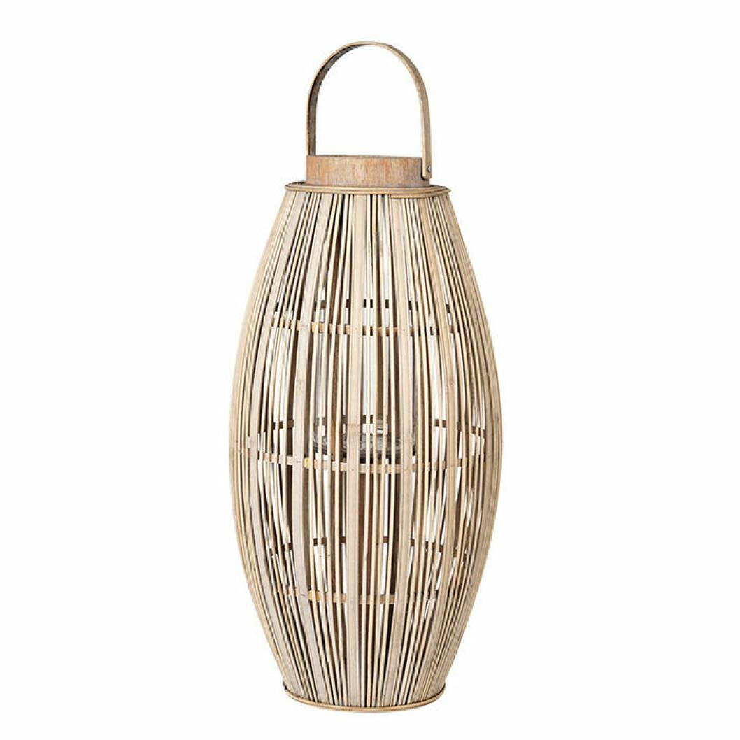 Tidlös ljuslykta i bambu