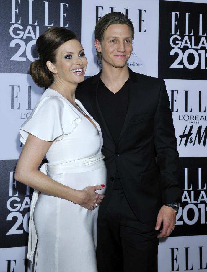 Carolina Gynning och Alexander 2012