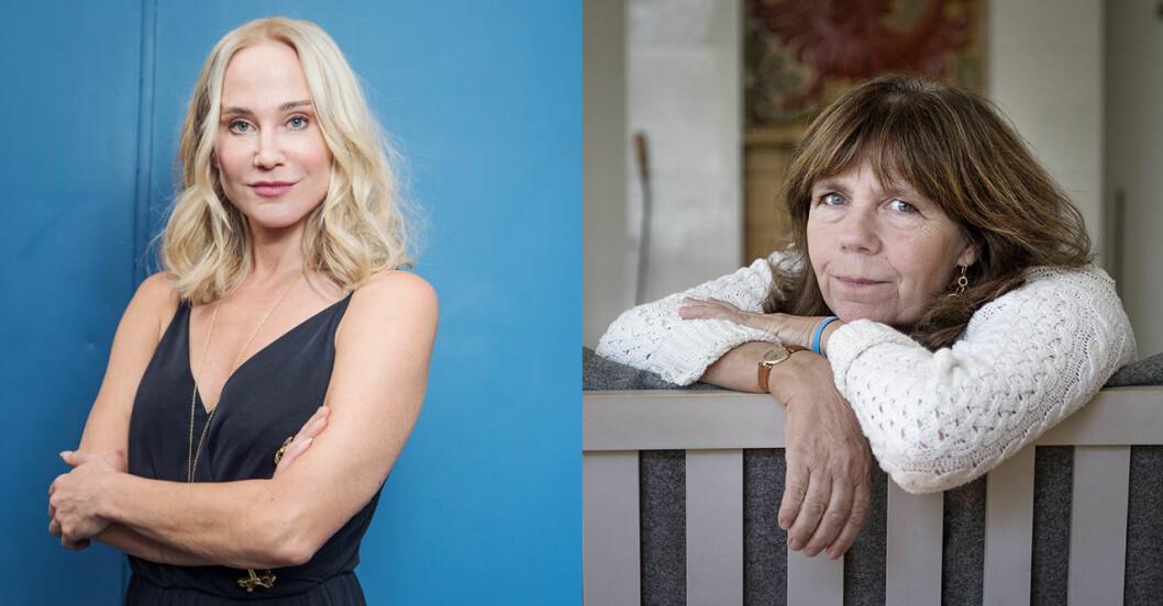 Anja Lundqvist och My Skarsgård