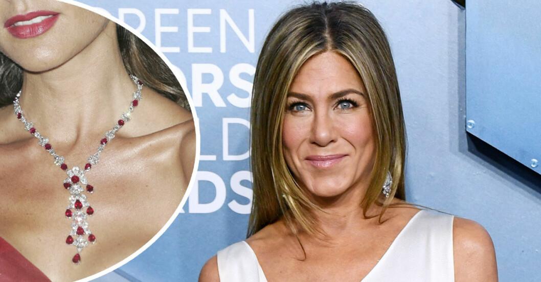 Jennifer aniston och smycke