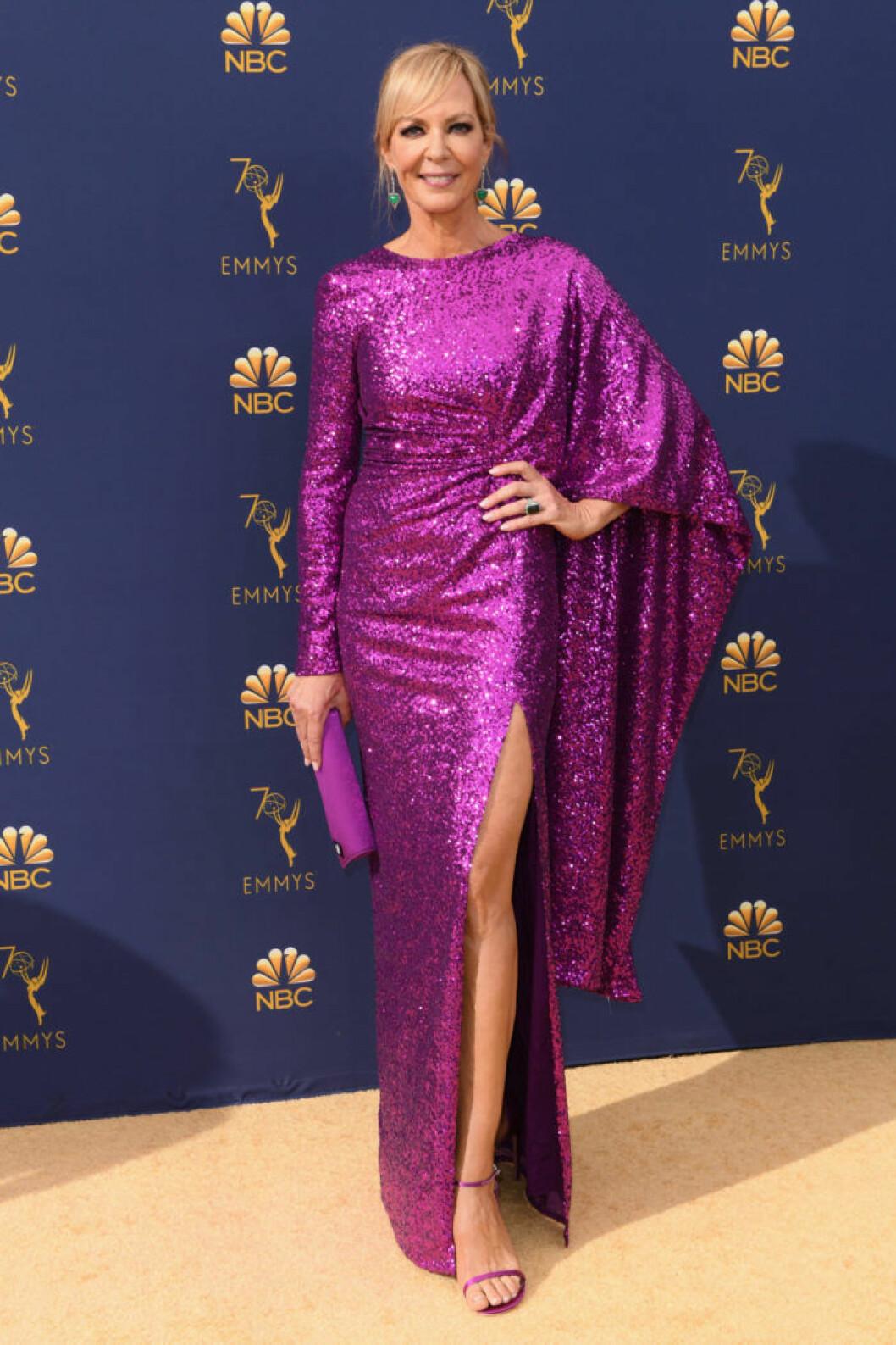Allison Janney Emmygalan 2018