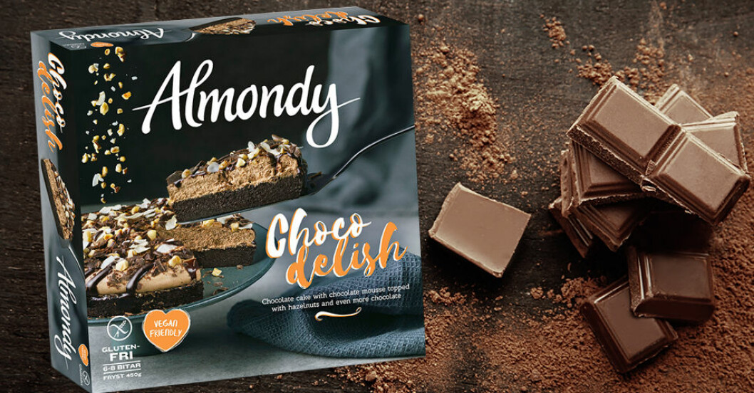 choco delish almondy