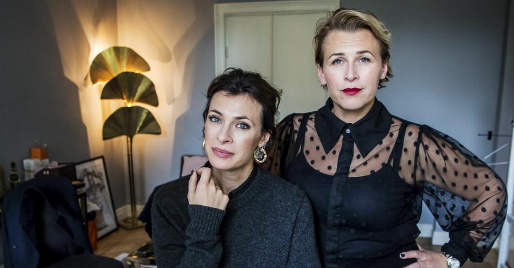 Amanda Schulman och Hannah Widell