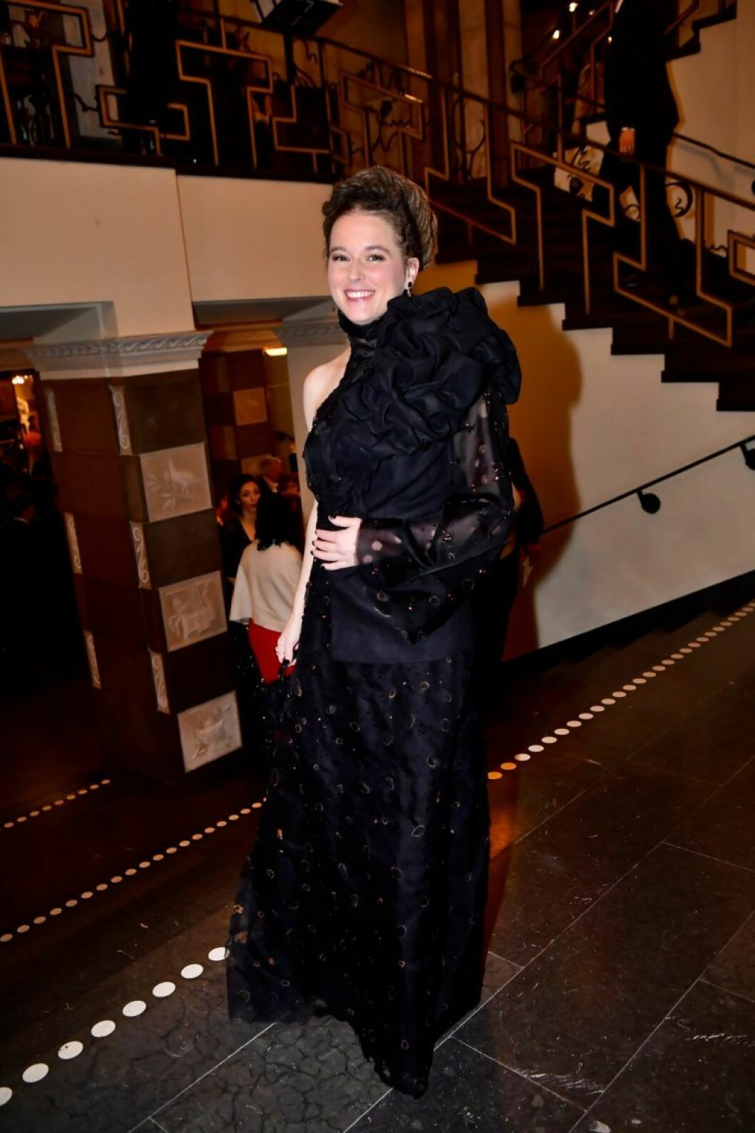 Kulturminister Amanda Lind på Nobel 2019.