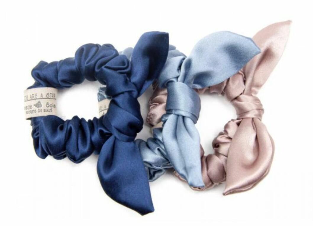 Hårsnoddar i silke från amelie soie