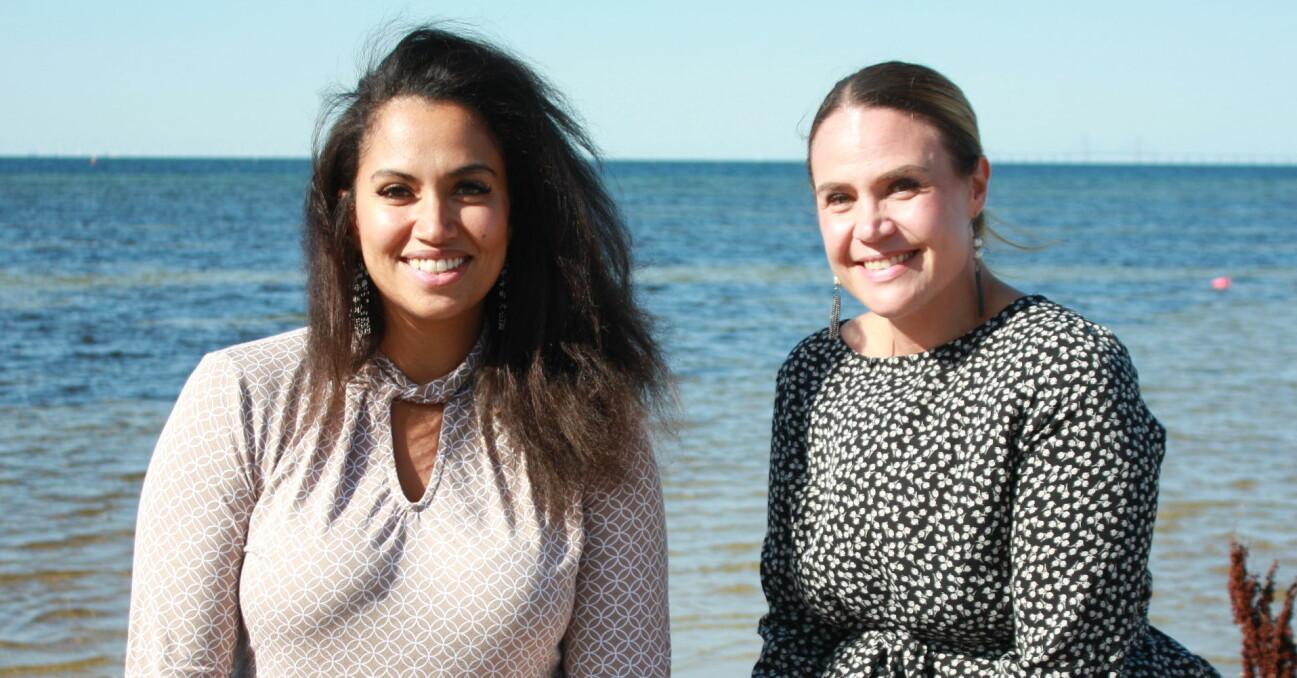 Tidigare missbrukarna Aminah Fallgren och Sophie Nyman