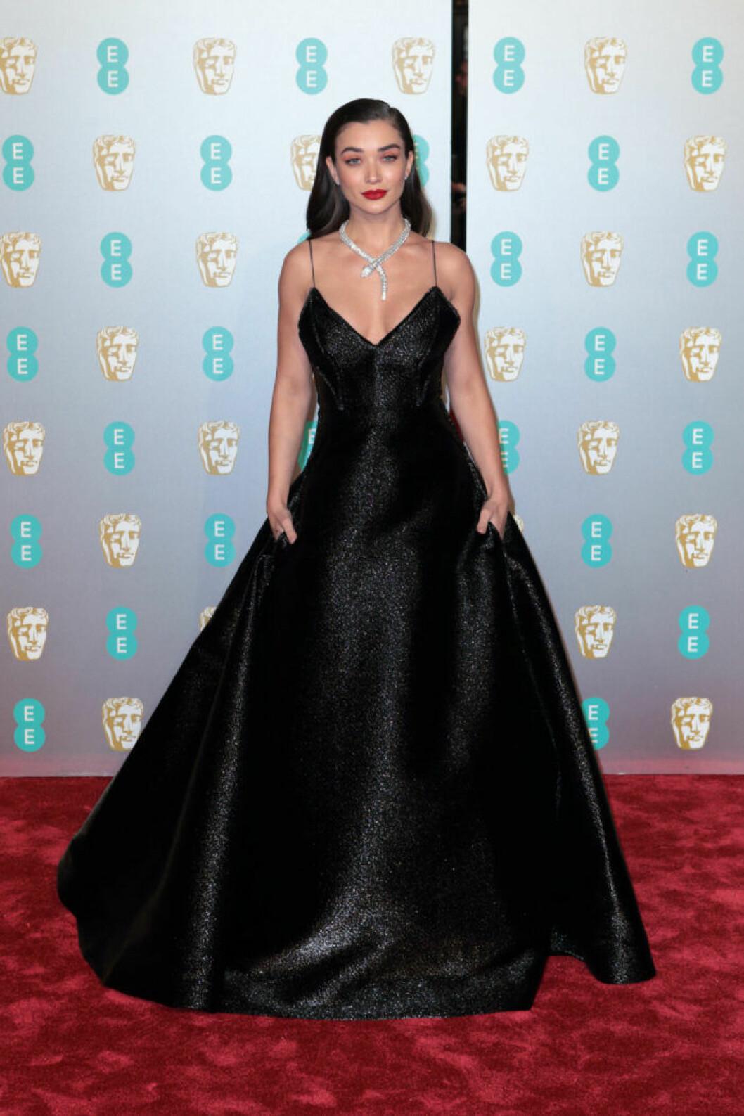 Amy Jackson på BAFTA