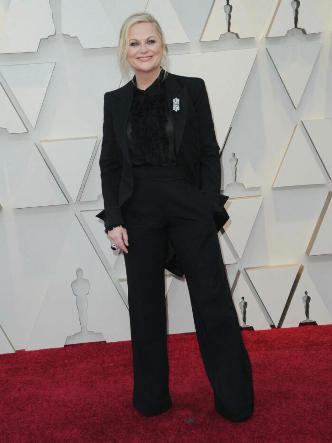 Amy Poehler Oscarsgalan 2019.