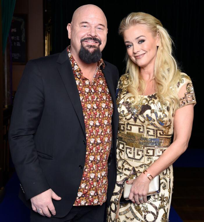 Anders Bagge med hustrun Johanna Lind Bagge.