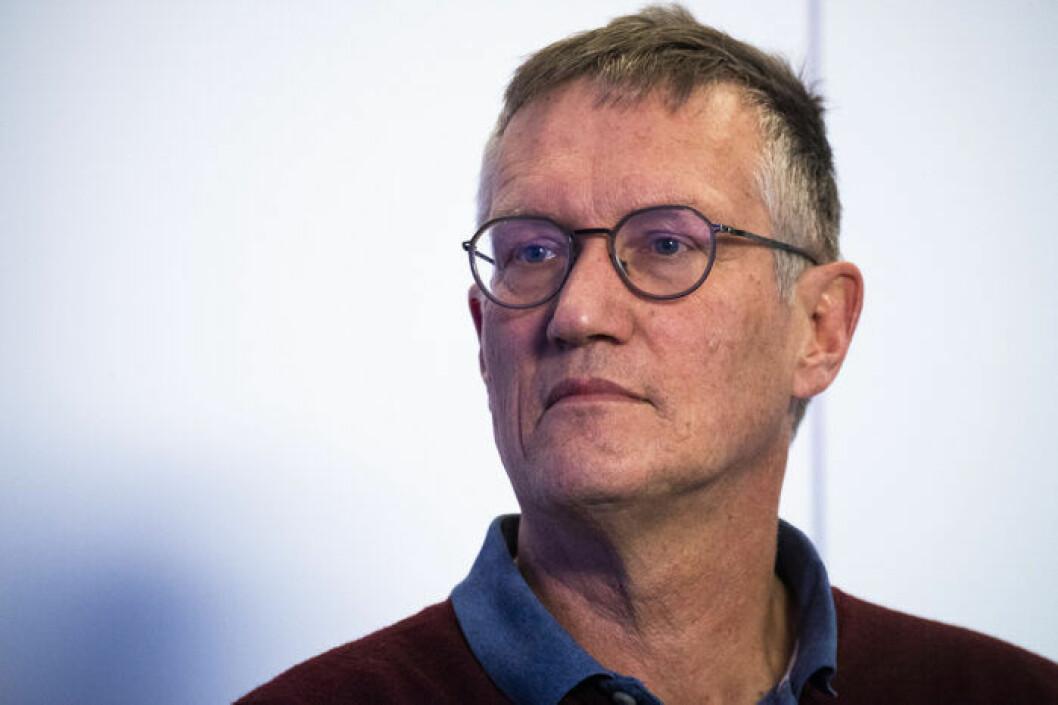 Folkhälsomyndighetens statsepidemiolog Anders Tegnell.