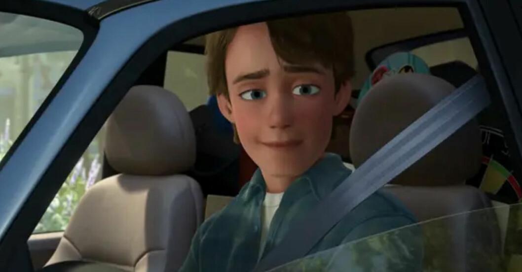 andy i bilen