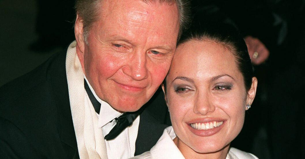 Angelina Jolie och Jon Voight