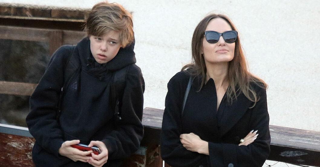 Lilla Shiloh vill bara att Angelina Jolie och Brad Pitt ska vara vänner.