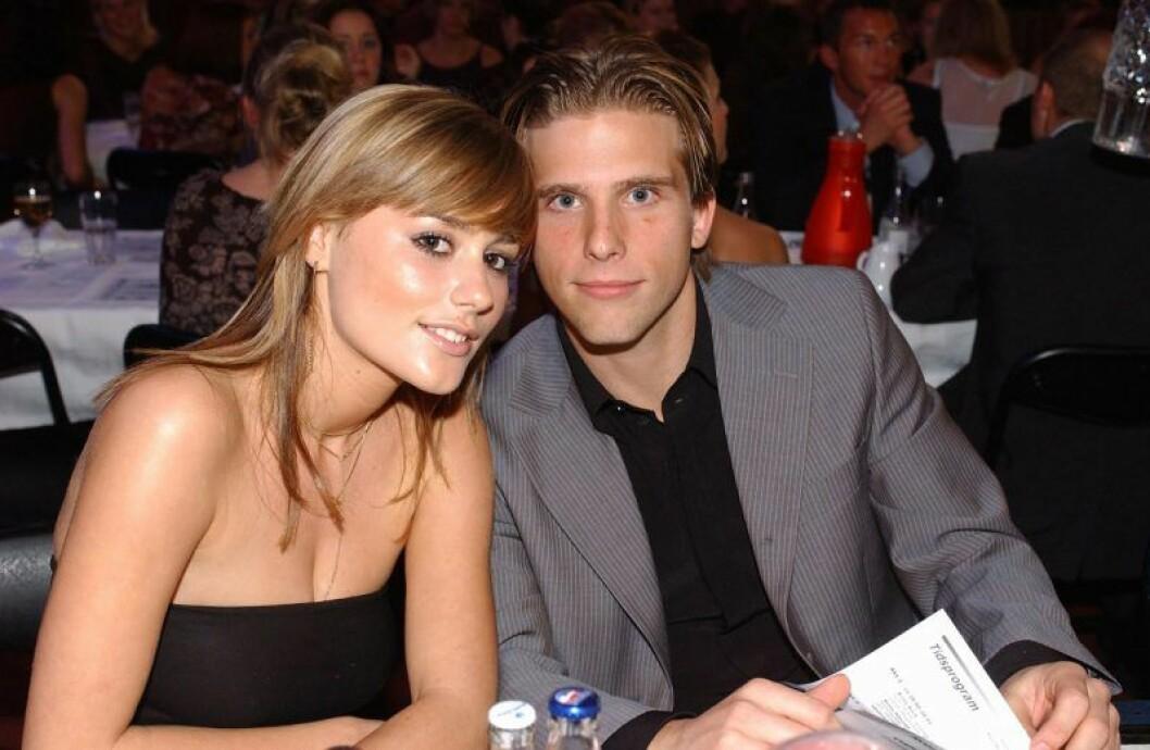 Anine Bing och Anders Svensson var ett par på 2000-talet