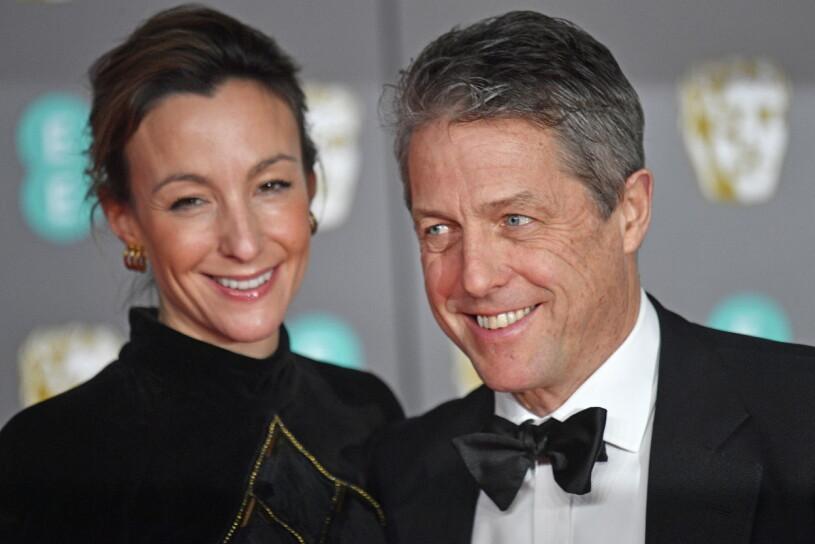 Anna Eberstein och Hugh Grant