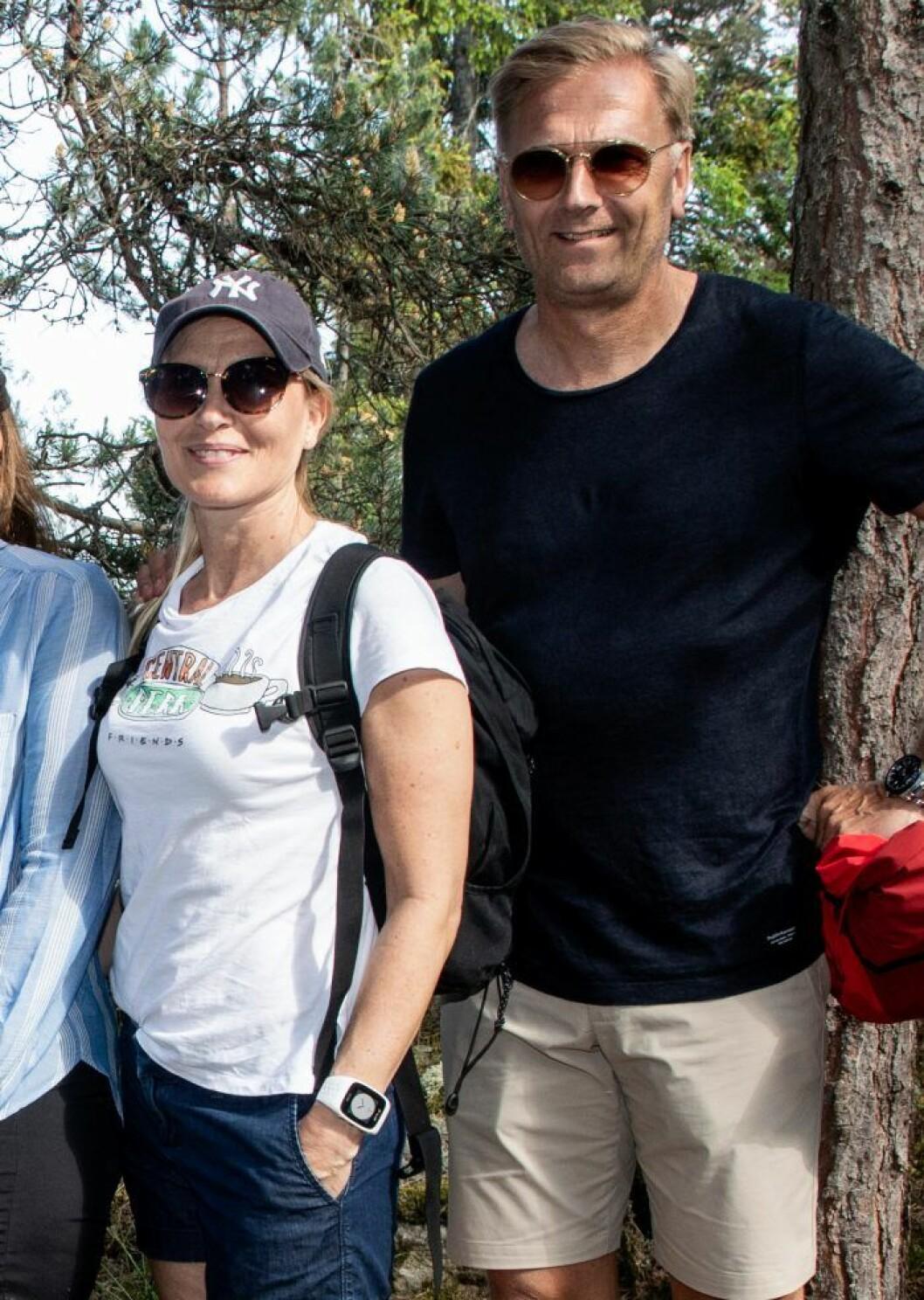 Anna Westling med sin man Mikael Söderström