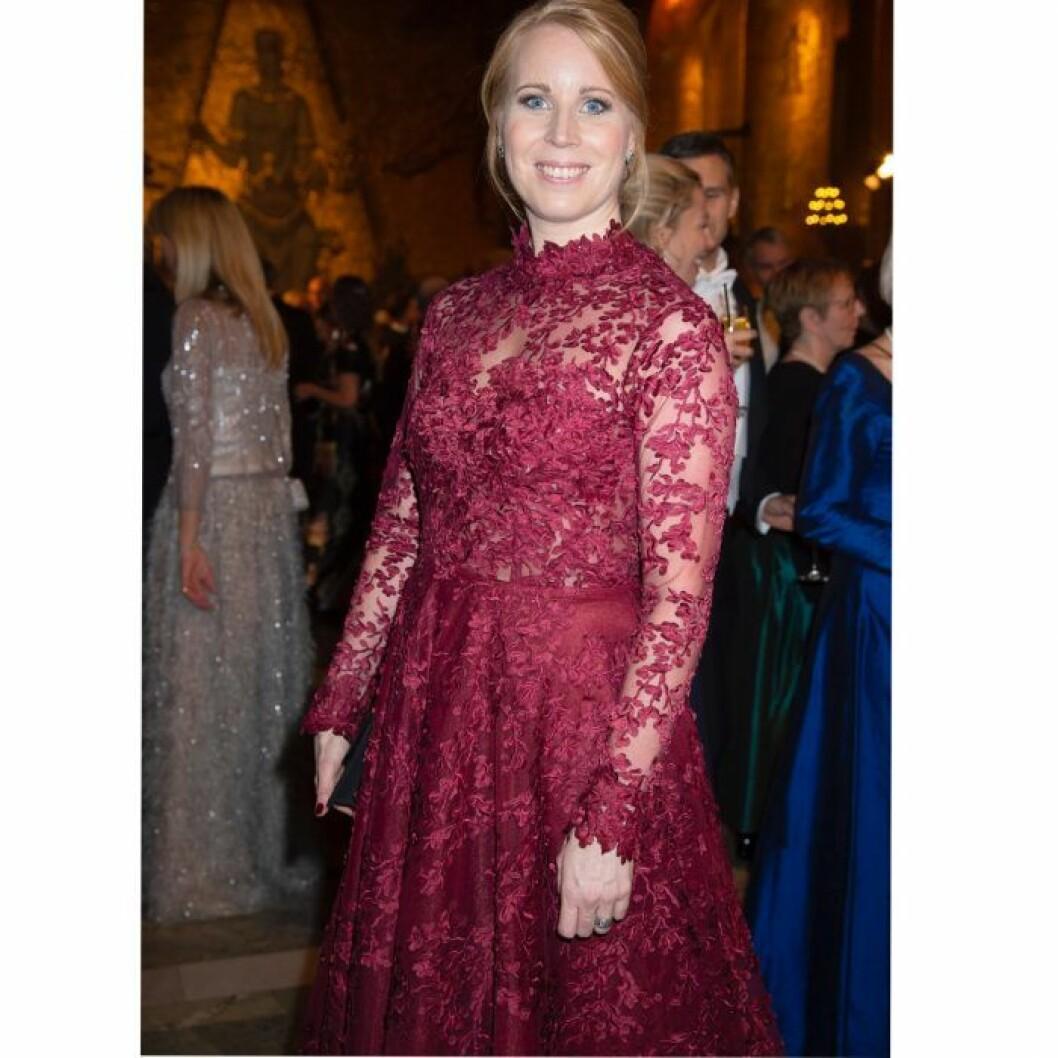 Annie Lööf klänning Nobel