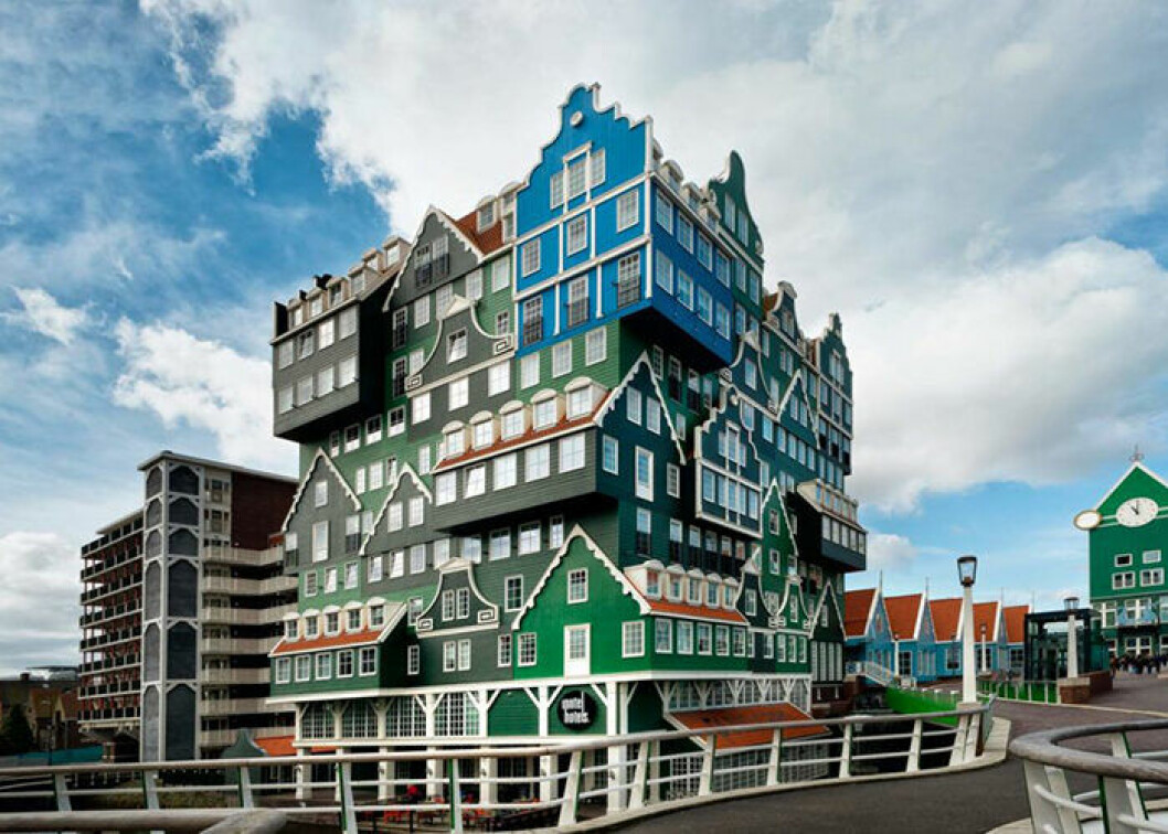 Inntel Hotels Zaandam i Amsterdam är ett unikt och annorlunda hotell