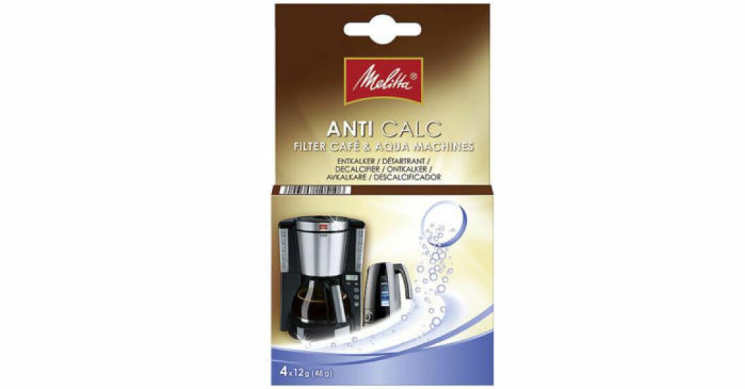 Avkalkningstabletterna Anti Calc från Melitta
