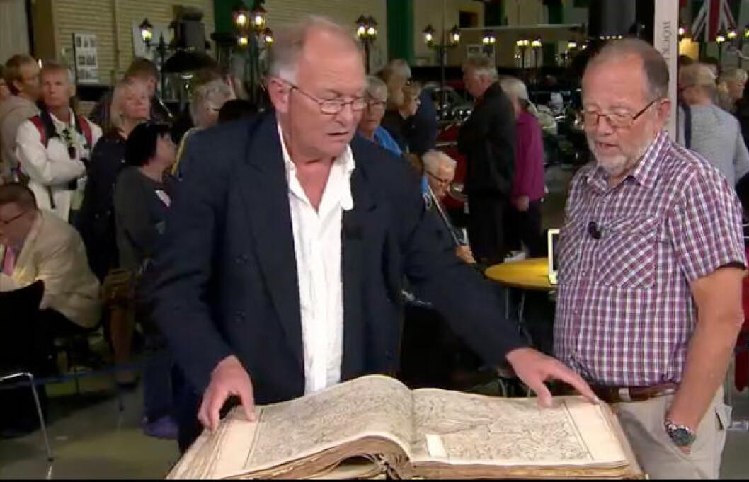 Antika kartboken var värd hundratusentals kronor.