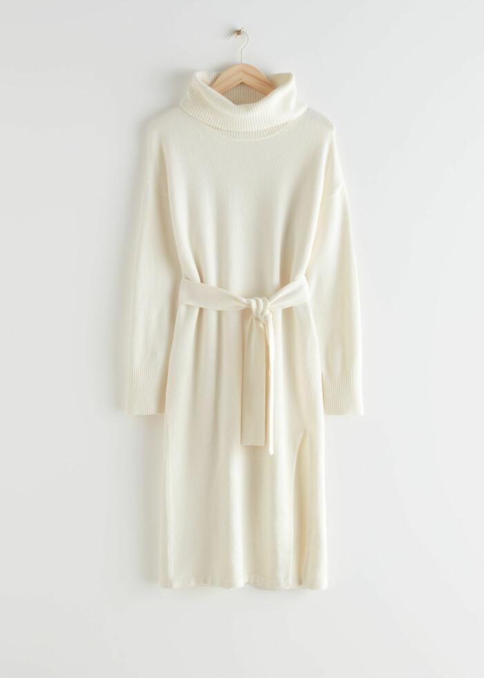 Vit klänning från &other stories