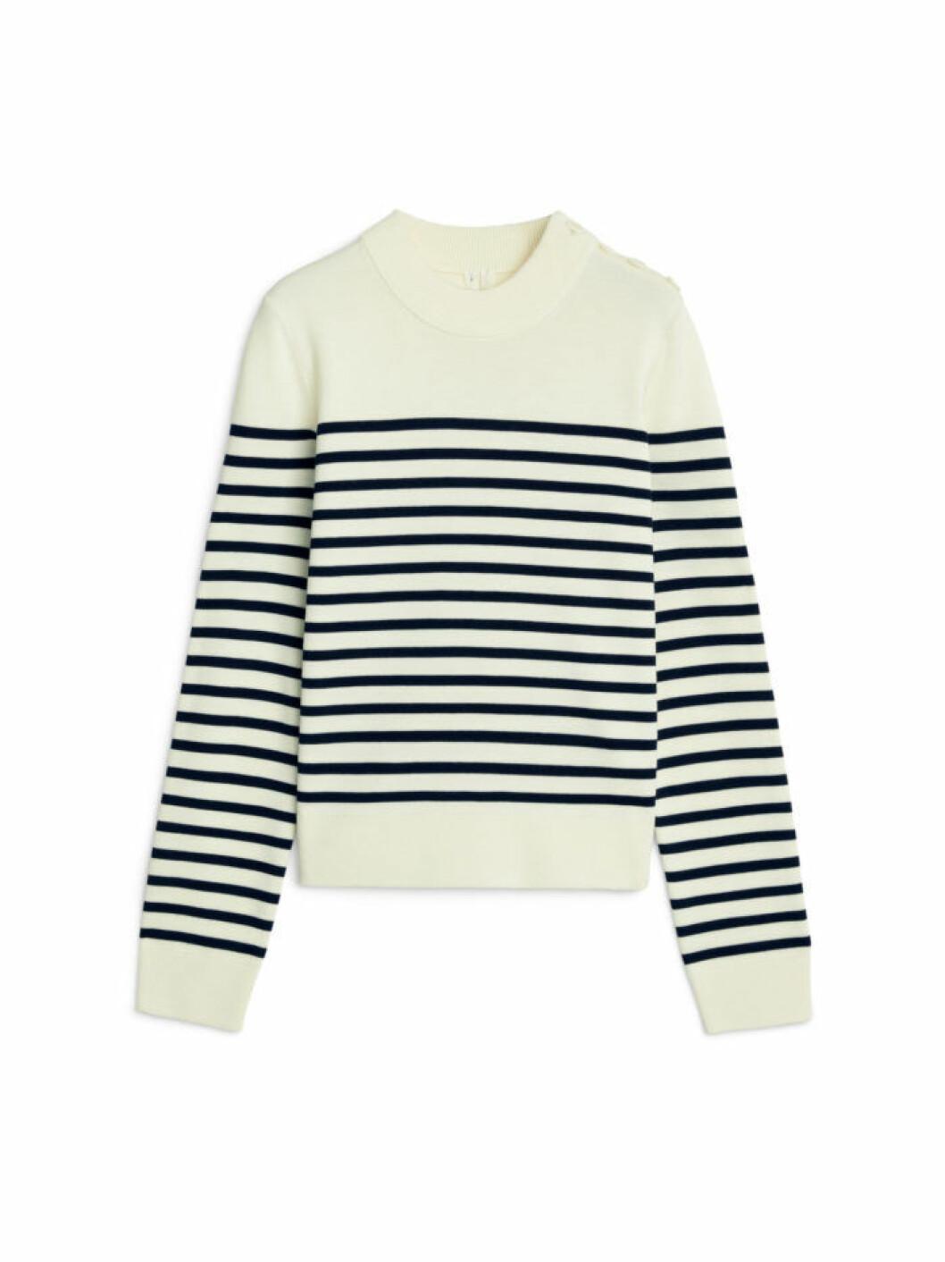 Marinière tröja i merinoull från Arket