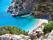 Stranden Apela på Karpathos.