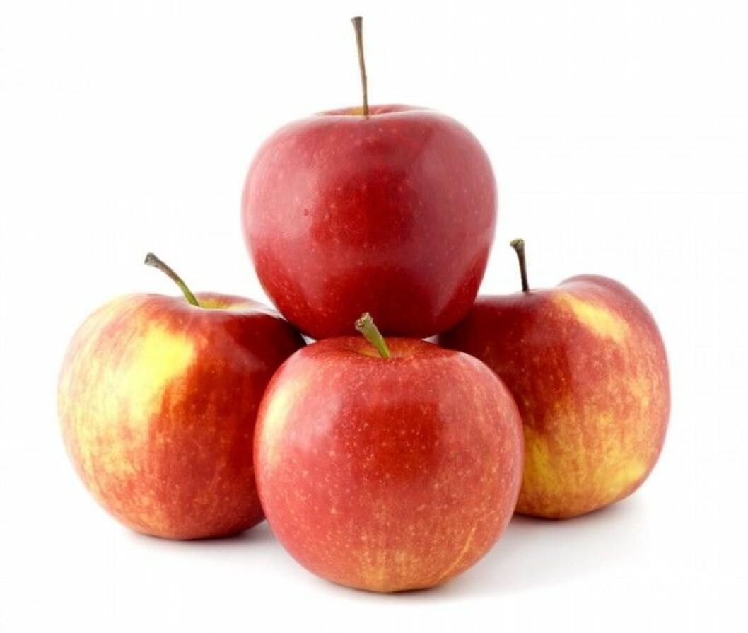 Äpple. Ett äpple före sängdags sägs ge god sömn. Äppelfrukten i sig är lugnande, men det är först och främst kokt som äpplet både är laxerande och sömngivande. Äpplen är bra för matsmältningen och ett utmärkt blodrenande medel som hjälper kroppen att befria sig från alla gifter. I skalet finns mycket av äpplets värdefulla fibrer som håller magen i gång och sänker kolesterolet.