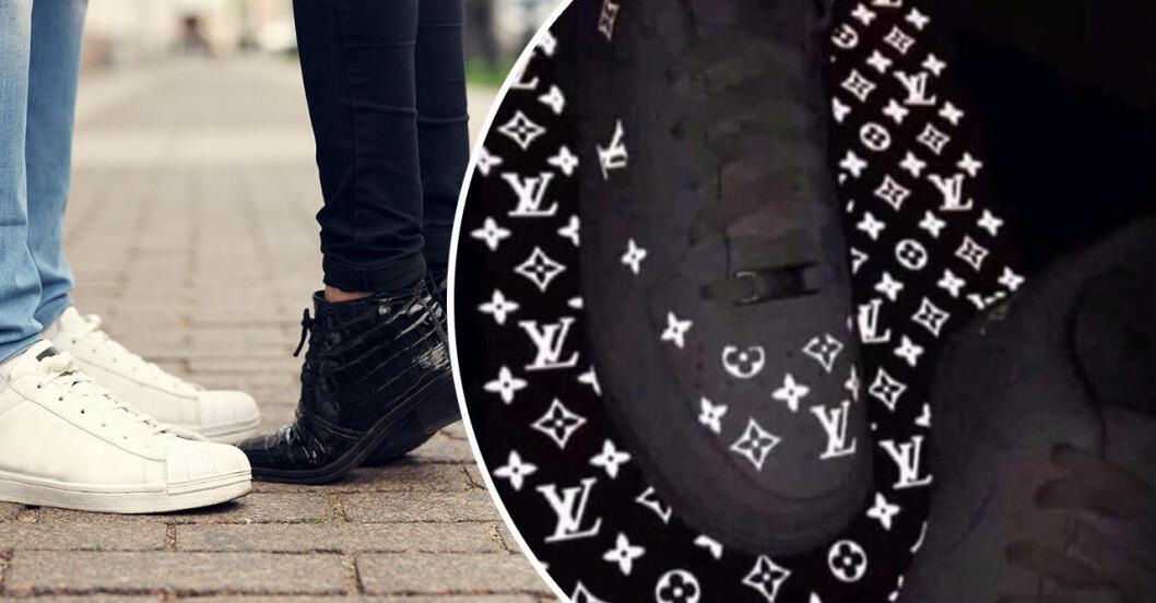 Nike Louis Vuittonskor svarta eller vita?