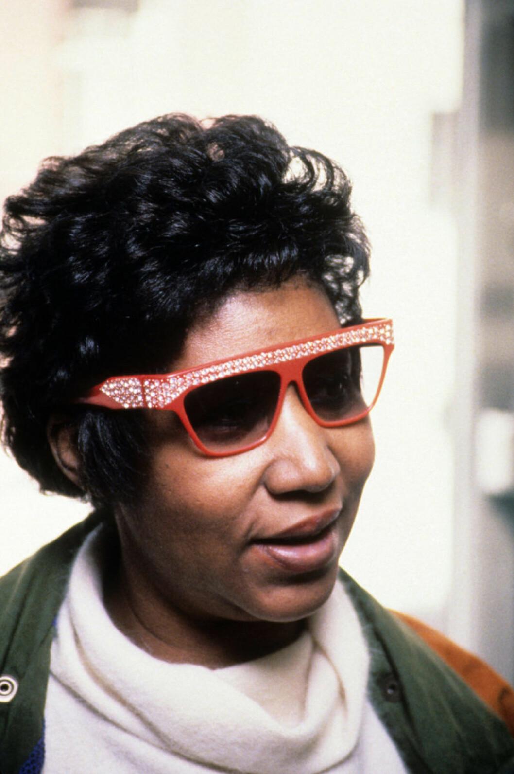 Aretha Franklin 1990.