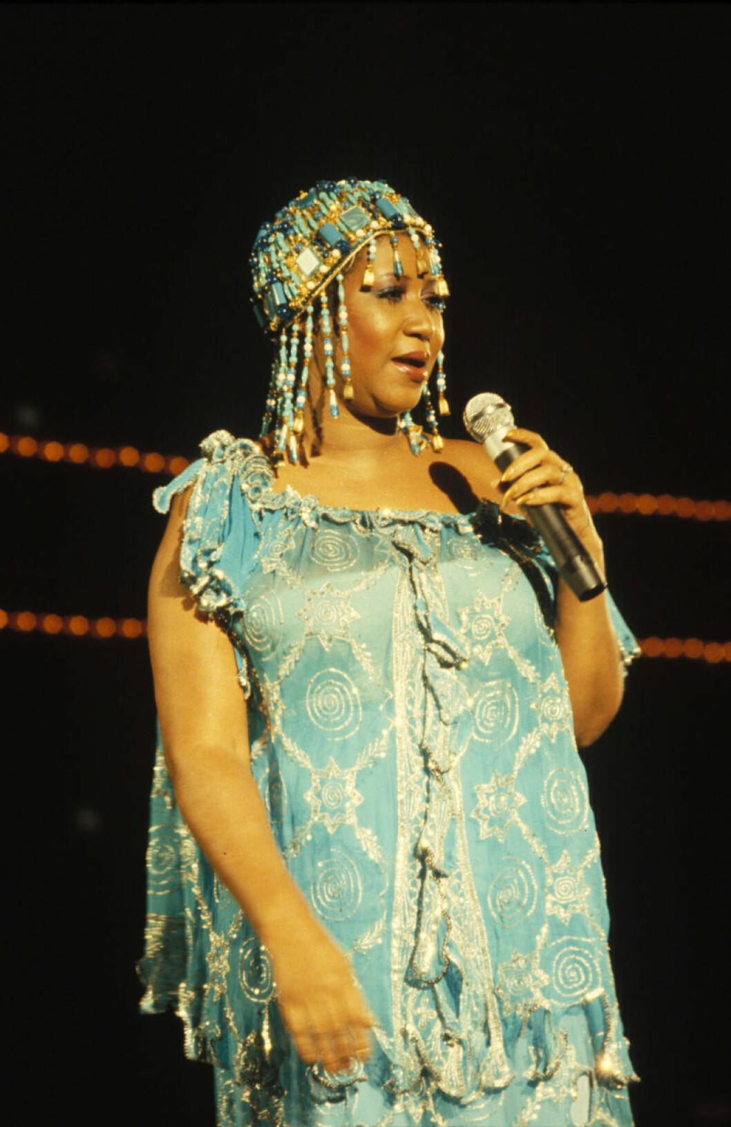 Aretha Franklin 1975.
