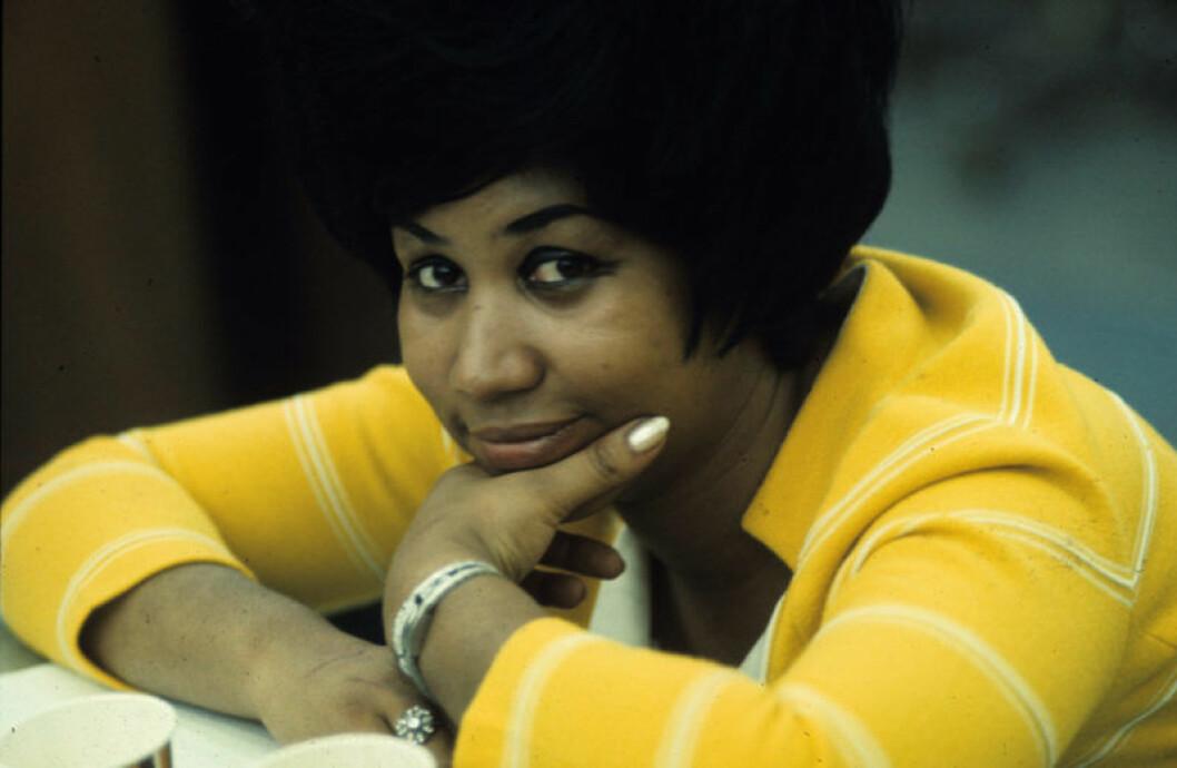 Aretha Franklin 1968.