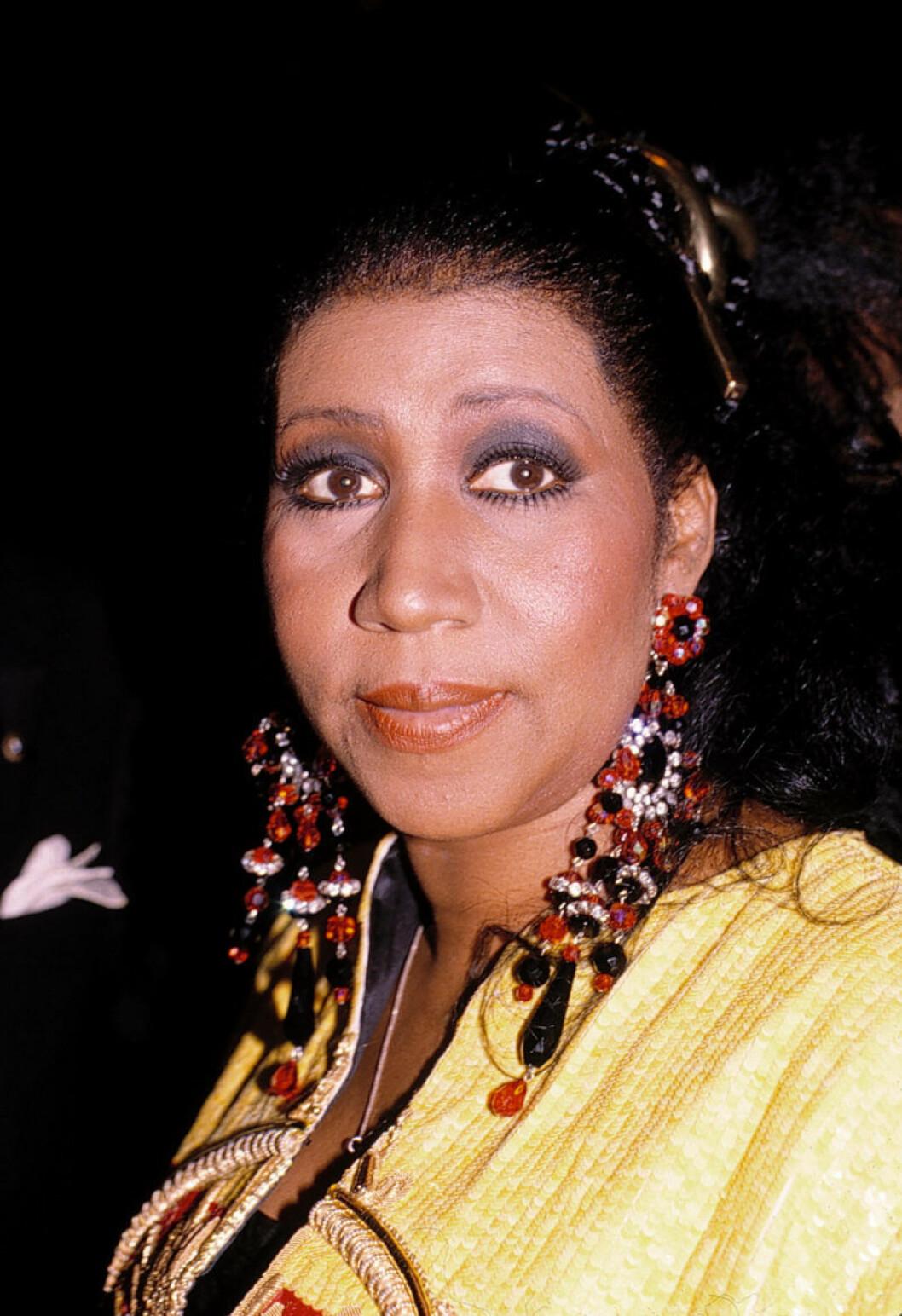 Aretha Franklin 1980.