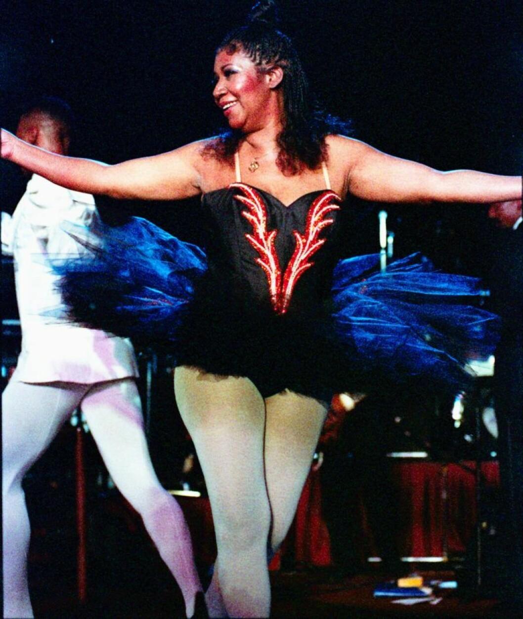 Aretha Franklin 1992.