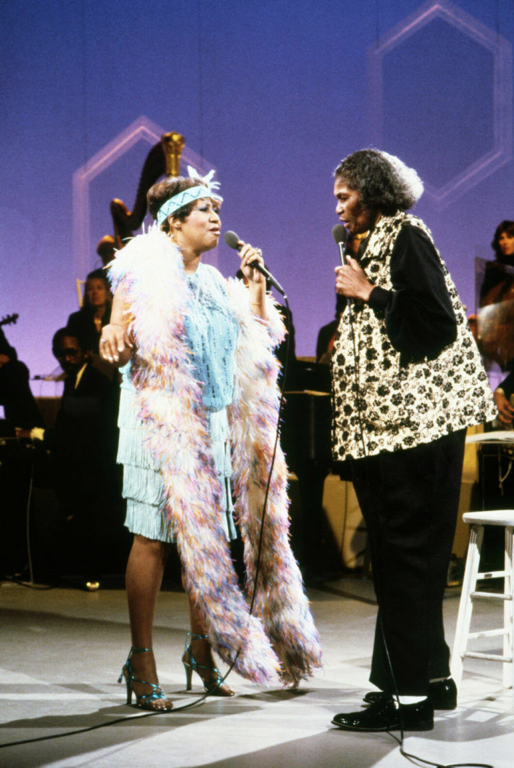 Aretha Franklin, Big Mama Thornton 1980.