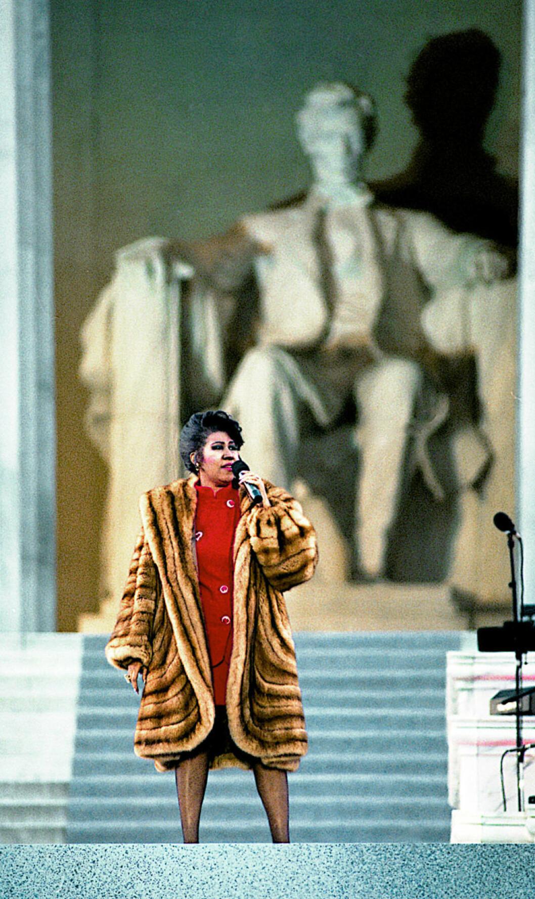Aretha Franklin 1993.