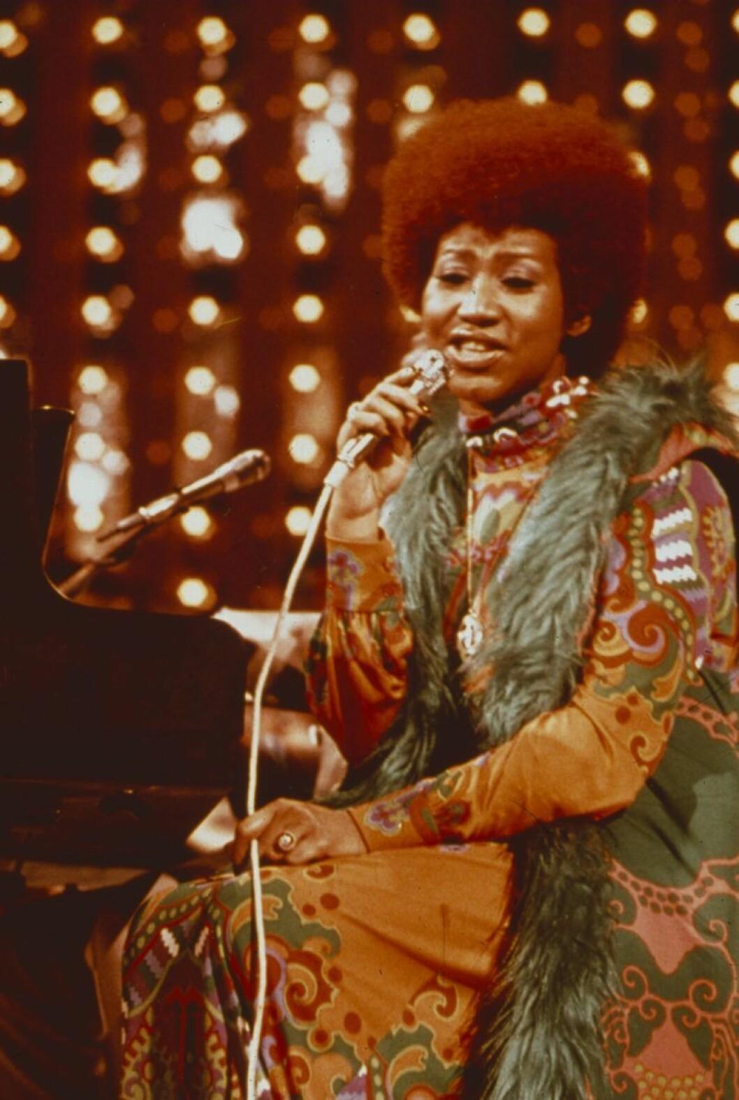 Aretha Franklin 1978.