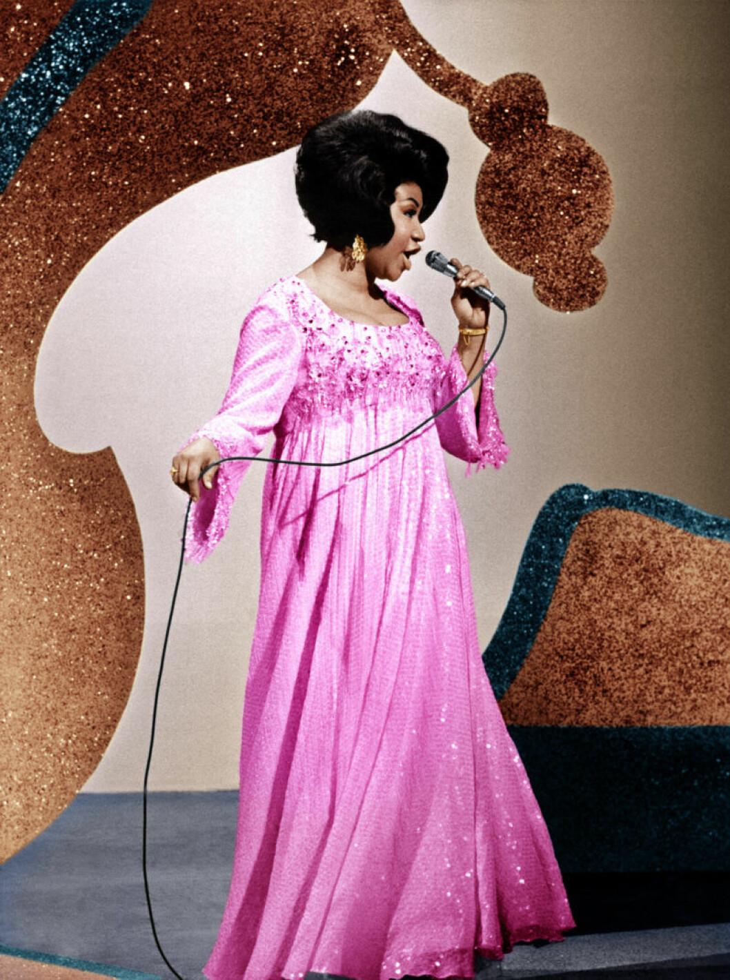 Aretha Franklin 1969.