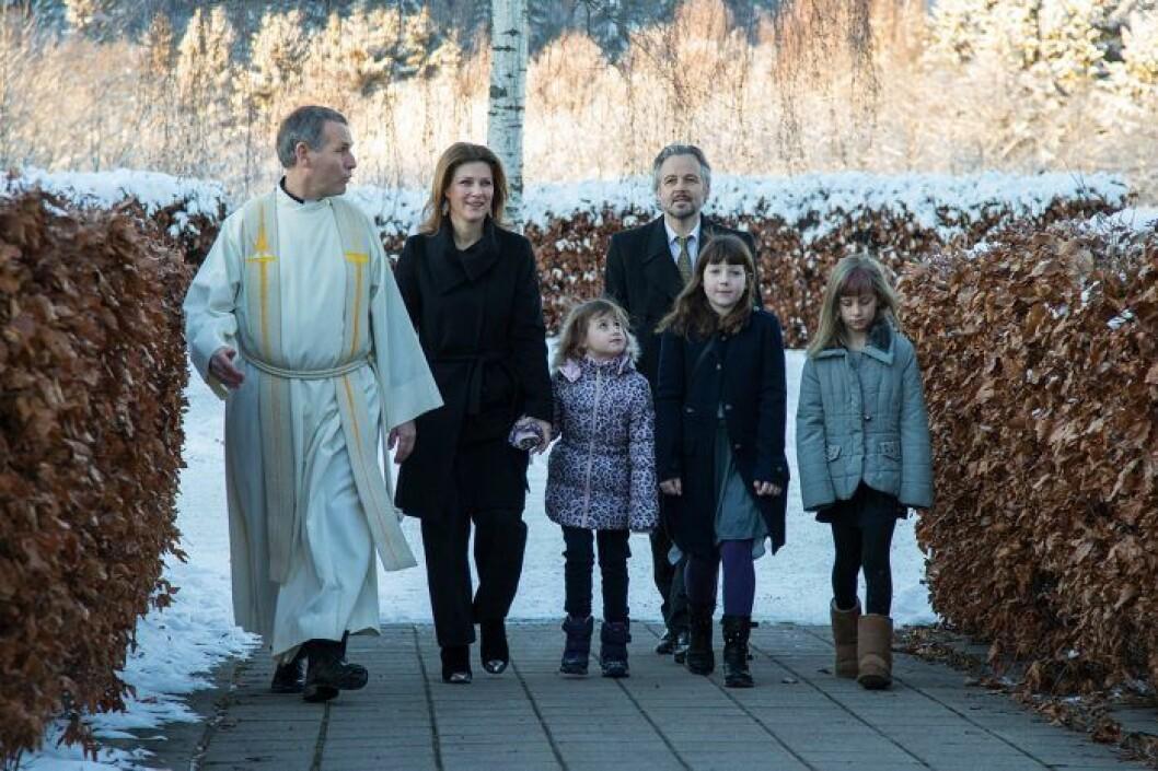 Ari Behn med familj