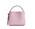 Rosa skinnväska i mindre modell. Väska från Arket.