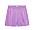 Lila shorts i satin från Arket.