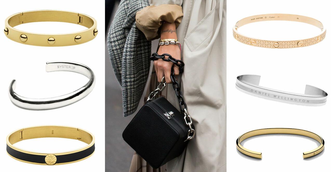 Armband som liknar Cartier