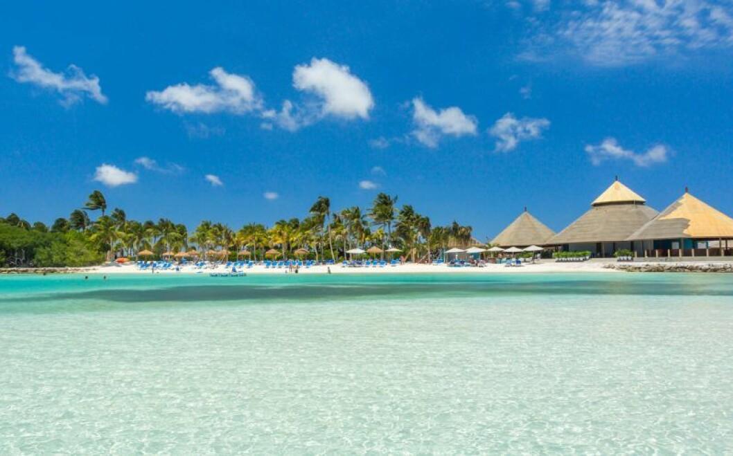 Drömstrand på Aruba
